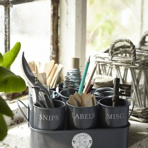 Sophie Conran Gubbins Tin in Grey