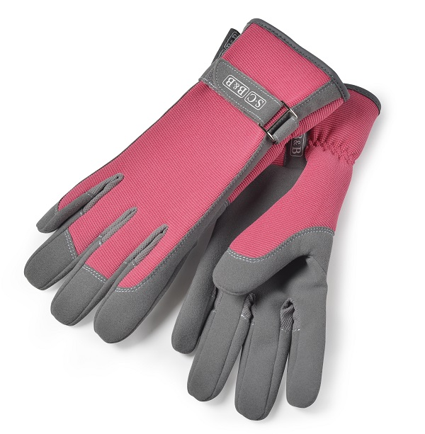 Sophie Conran Gloves in Raspberry