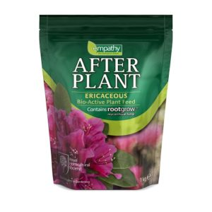 After Plant Ericaceous with rootgrow